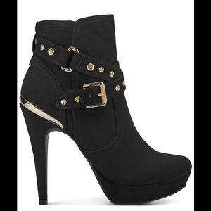 Guess stiletto platform booties! Brand new!